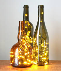 Decorative Wine Bottles With Lights How to Put Christmas Lights in a Wine Bottle eHow 45