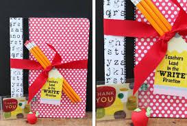 teacher appreciation week gift ideas notebook and pencils width