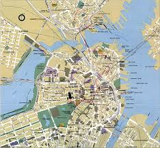 boston map  detailed city and metro maps of boston for download