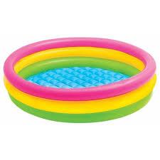 <b>Детский бассейн intex</b> sunset glow three ring <b>57412</b> — 1 отзыв о ...