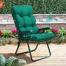 Garden Pads And Seat Cushions Connect Convenience And Style Luxury Recliner Chair Cushions