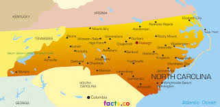 north carolina maps  political physical cities and blank outline