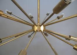 vintage sputnik chandelier large vintage brass sputnik chandelier at 1stdibs