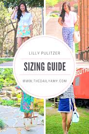 Lilly Pulitzer Size Chart Dresses Lilly Pulitzer Sizing Guide The Daily Amy