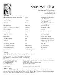 Resume Format For Advertising Agency Http Www Resumecareer