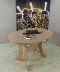 Auszugtisch Oval Buche Natur Esstisch Esszimmertisch Küchentisch