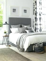 ideas of grey bedrooms grey bedding