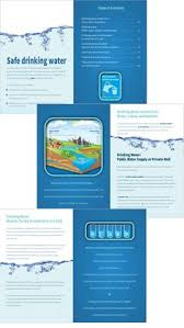 9 Best Drinking Water Brochure Designed By The Design