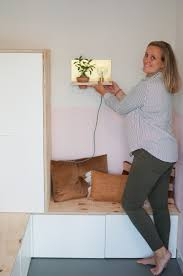 Diy Wandplank Met Lamp En Plantje Dirksdotter Blog