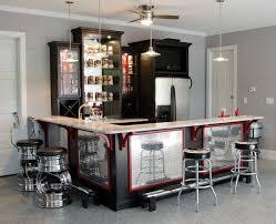 Hill Residence- Garage Bar traditional-home-bar