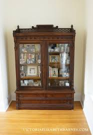 Out with the old in with the older Eastlake bookcase & a video