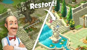 Looking to download hidden objects games for free? Gardenscapes New Acres 2 9 2 Apk Mod Unlimited Coins For Android Bestmodapk Com Gardenscapes Game Gardenscapes Game Download Free