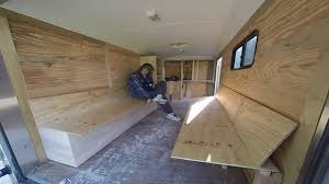 Cabinets For Cargo Trailers Big Rich Episode 9 Trailer Transformation Cargo Trailer To Toy