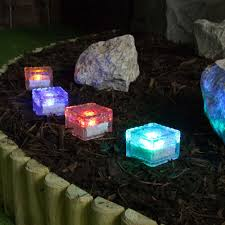 Colour Changing Solar Garden Lights Trendy Colour Changing Solar Garden Lights Fine Design Glass
