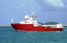 fugro survey vessel begins mapping