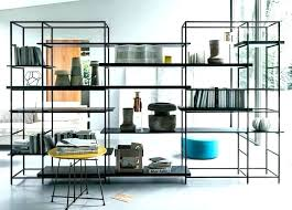 Charming Room Divider Shelves Dividers With These Modular Elegant Shelving Options  Boast A Sleek Finish T