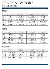 Dillards Size Chart