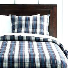 plaid cotton sheets queen comforter twin bedding