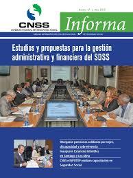 Revista del CNSS No. 17 by Consejo Nacional de Seguridad Social (CNSS) -  issuu