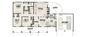 1400 sf ranch house plans best of ranch style house plan 3 beds 2 baths 1400