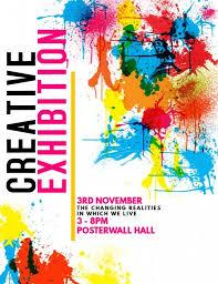 Art Event Flyer Customizable Design Templates For Art Festival