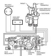 gas valve wiring diagram gas wiring diagrams wiring diagram on