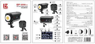 Đèn led video light EF-200Bi - Yến Tâm Camera