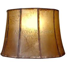 rawhide chandelier lamp shade full image for faux rawhide