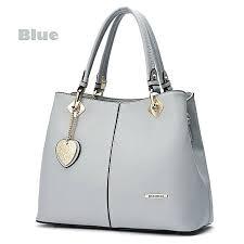 doodoo fashion handbags high quality leather handbags las handbag shoulder bag blue