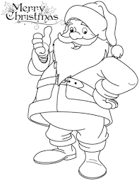 Small Picture Funny Santa Claus coloring page Free Printable Coloring Pages