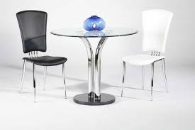 36 inch round glass top dining table set. 36 inch round dining table with black marble base and two chairs glass top set a