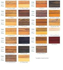 colors of wood furniture. Wood Furniture Colors Chart Teak Stain Color Of
