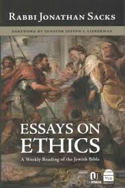 essays on ethics jonathan sacks  essays on ethics