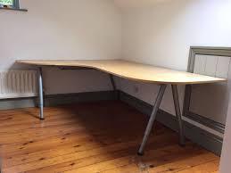 image of galant corner desk from ikea