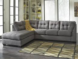 benchcraft maier  charcoal piece sectional with left chaise
