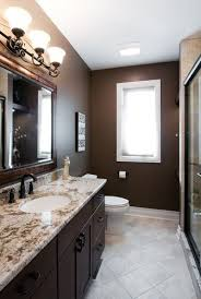 brown bathroom color ideas. Spare Bath Color Idea Home Addition Design And Remodeling-- Elmhurst, Il Traditional Bathroom Brown Ideas E
