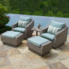 Small palermo seating in bronze finish the outdoor living room