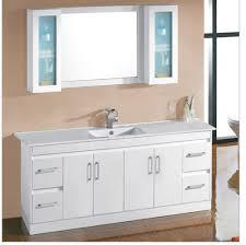 white single sink bathroom vanities. Bathroom: Gorgeous Shop Allen Roth Vanover White Undermount Single Sink Bathroom On Cabinets From Amazing Vanities