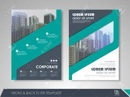 Ebrochure Template Modern Blue Brochure Design Brochure Template Vector Illustration