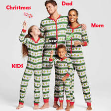 Image is loading Family-Matching-Kids-Womens-Christmas-Pajamas-PJs-Sets- Family Matching Kids Womens Christmas Pajamas PJs Sets Xmas