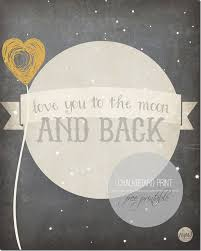 Chalkboard Print Love You To The Moon Mama Miss Extraordinary I Miss You To The Moon And Back Quotes