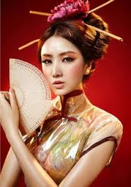 geisha gorgeous inspirational look for okay not exactly just wrong there is nothing geisha happening in this photo