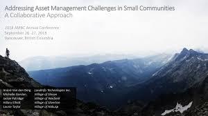 Municipal Asset Management Project