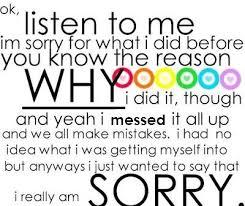 Im Sorry Quotes WeNeedFun Extraordinary Im Sorry Love Quotes