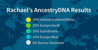 my family never pursued genealogy until i got an ancestrydna kit for the test revealed we were a mix of irish scandinavian and other european