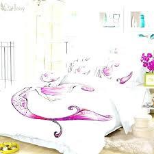 mermaid comforter set mermaid bedding set home textile mermaid bedding set white burdy fish duvet cover mermaid comforter set