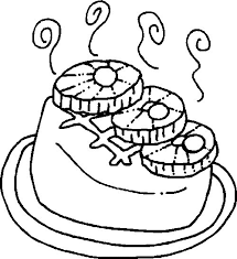 Kleurplaat Reep Dibujo De Chocolate Para Colorear Actividades