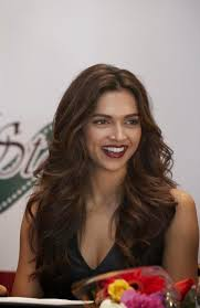 Deepika Padukone Sexy Cleavage Show At SLAM The Tour Press.