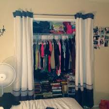 Collection in Curtains For Closet Doors and Best 25 Closet Door Curtains  Ideas On Home Decor Closet Door