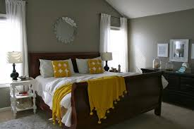 ... Gray And Yellow Home Decor Home Decor Beautiful Green And Grey Bedroom  Picture Design Ideas ...